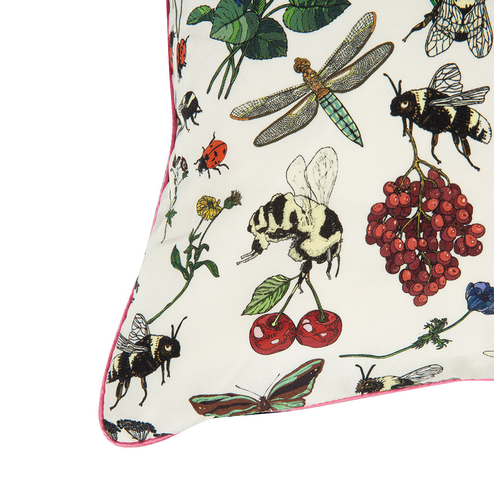 Silken Favours - Bumblebee Princess Cushion - 45x45cm