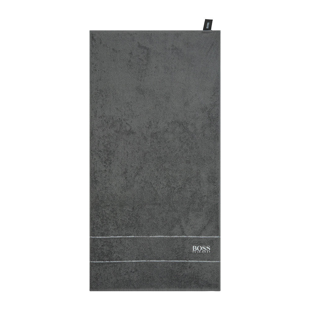 Hugo Boss - Plain Towel - Graphite - Bath Towel