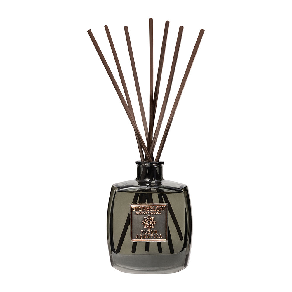 Stoneglow - Métallique Collection Reed Diffuser - 200ml - Fleur Aquatica