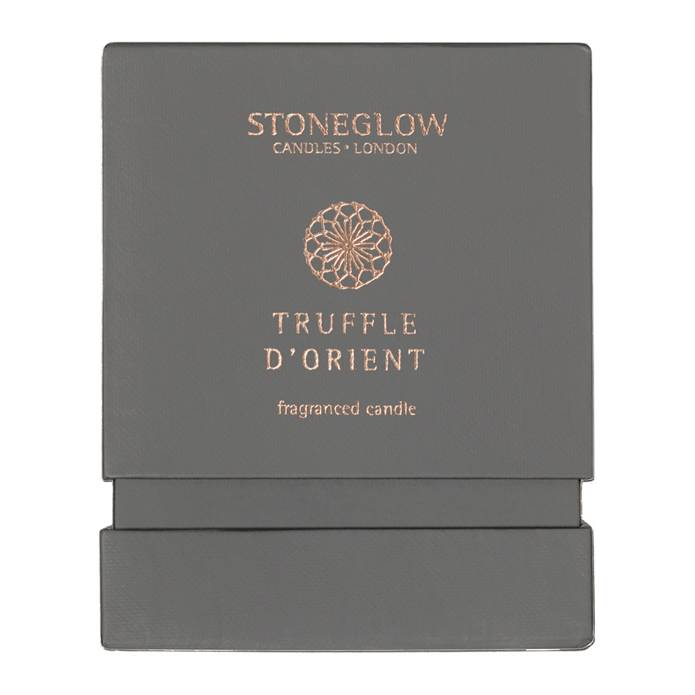 Stoneglow - Métallique Collection Tumbler Kerze - Truffle D'Orient