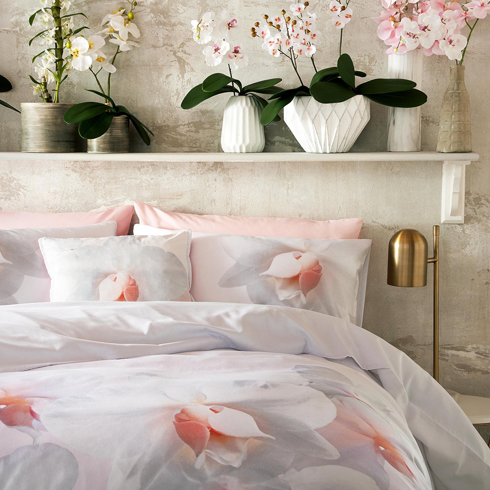 Ted Baker - Cotton Candy Bed Pillow - 45x45cm - Pink