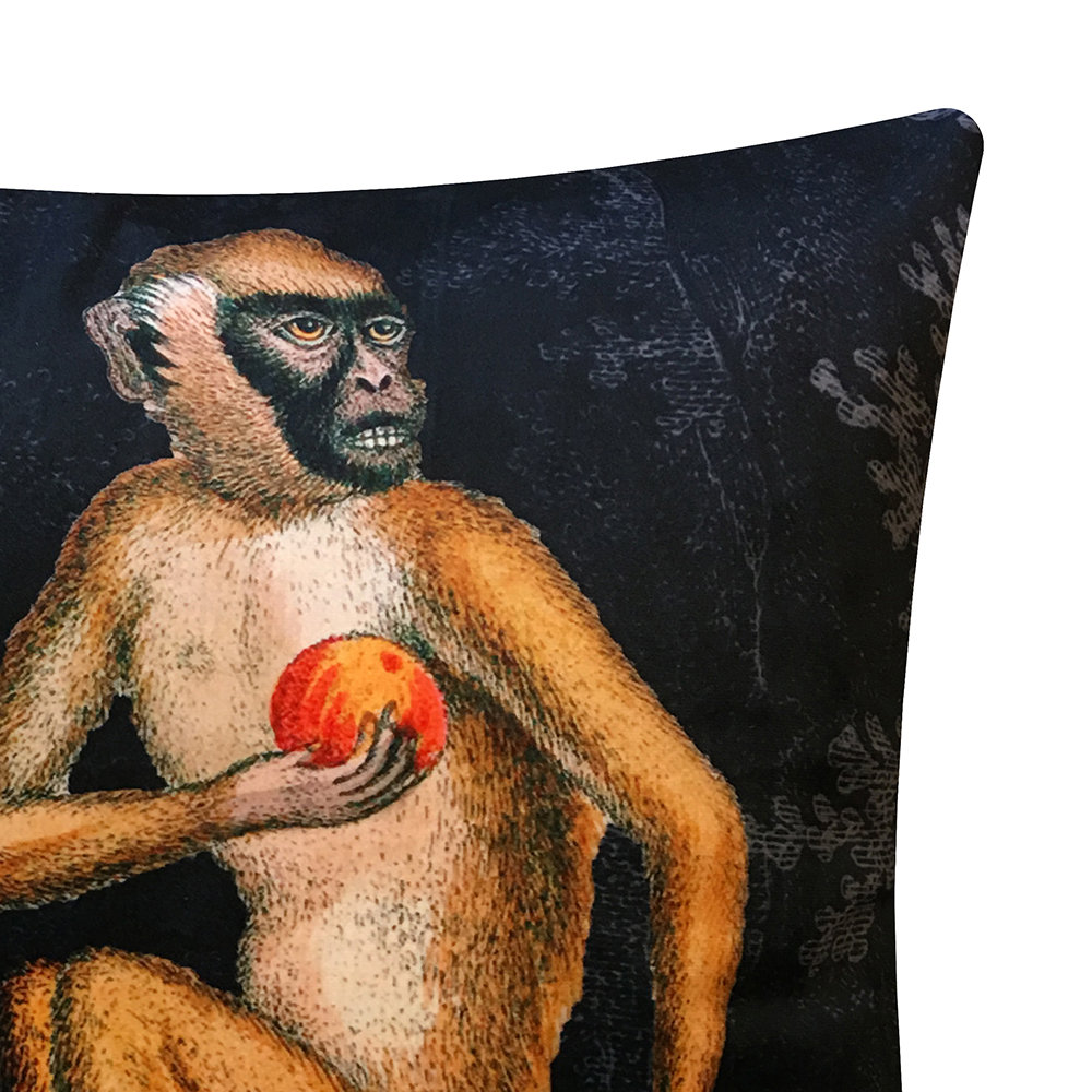 Vanilla Fly - Black Ape Pillow - 50x50cm
