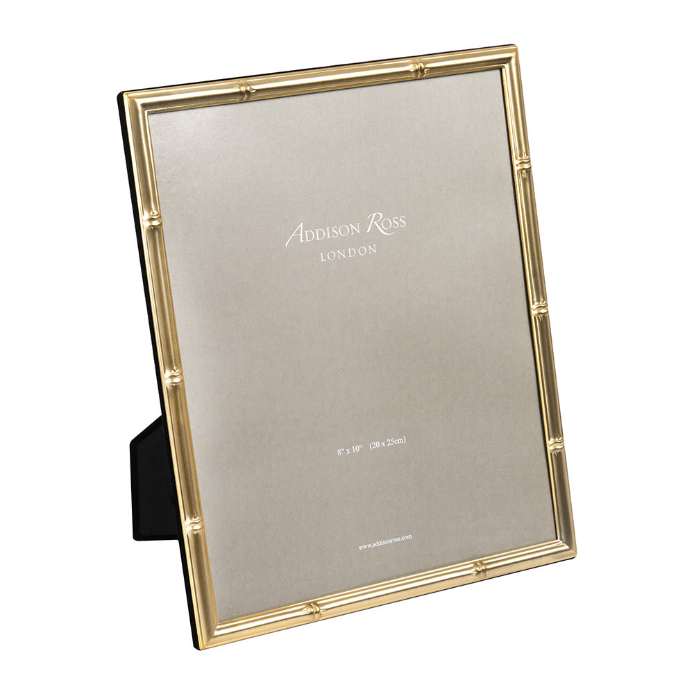 Addison Ross - Bamboo Photo Frame - Gold - 8x10""