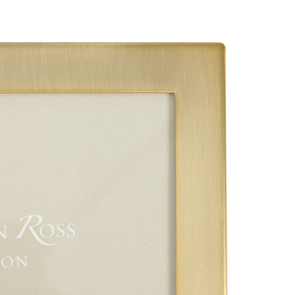Addison Ross - Square Gold Photo Frame - 4x6""