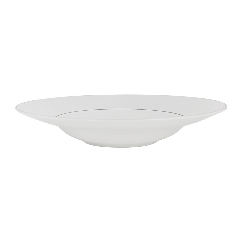 Royal Crown Derby - Effervesce Pasta Bowl - Pearl