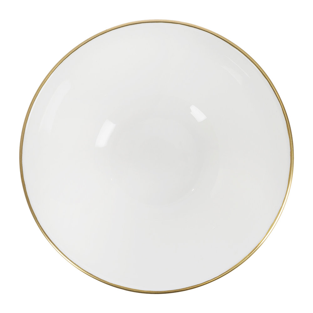 Royal Crown Derby - Oscillate Cereal Bowl - Ocher