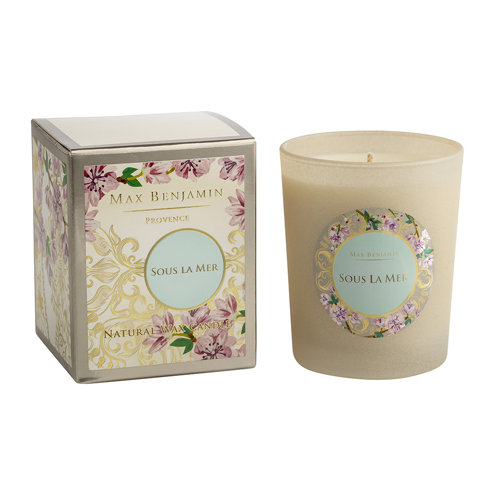 Max Benjamin - Provence Scented Candle - 190g - Sous La Mer