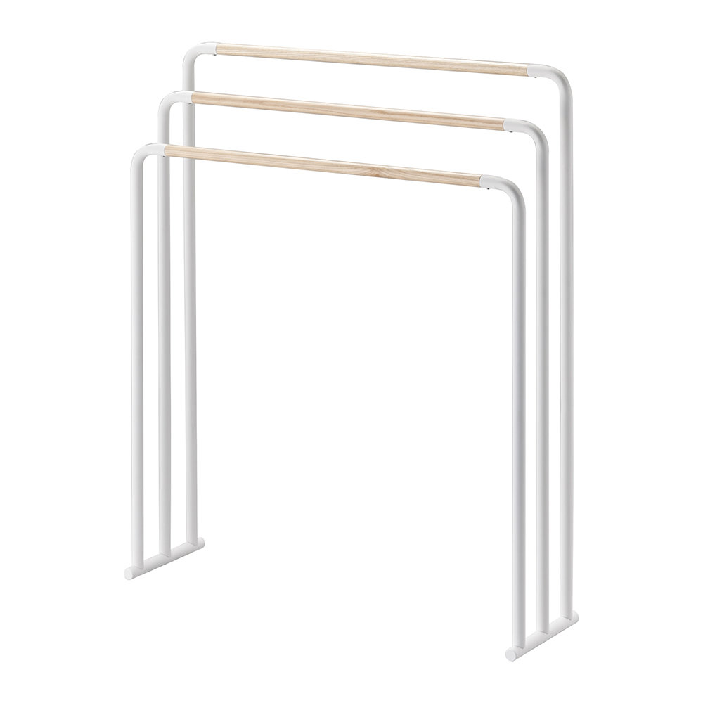 Freestanding Towel Rack White