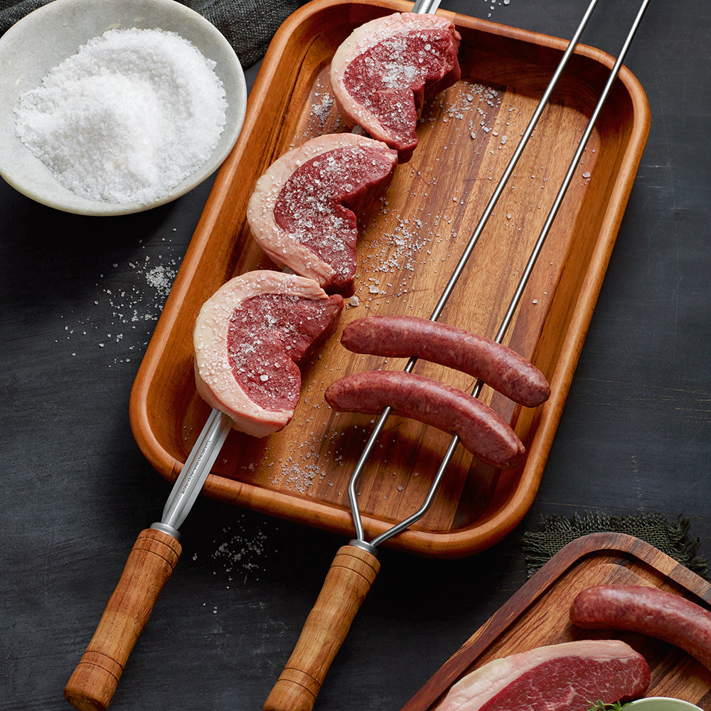 Tramontina - Churrasco Barbecue Skewer - Double Pronged