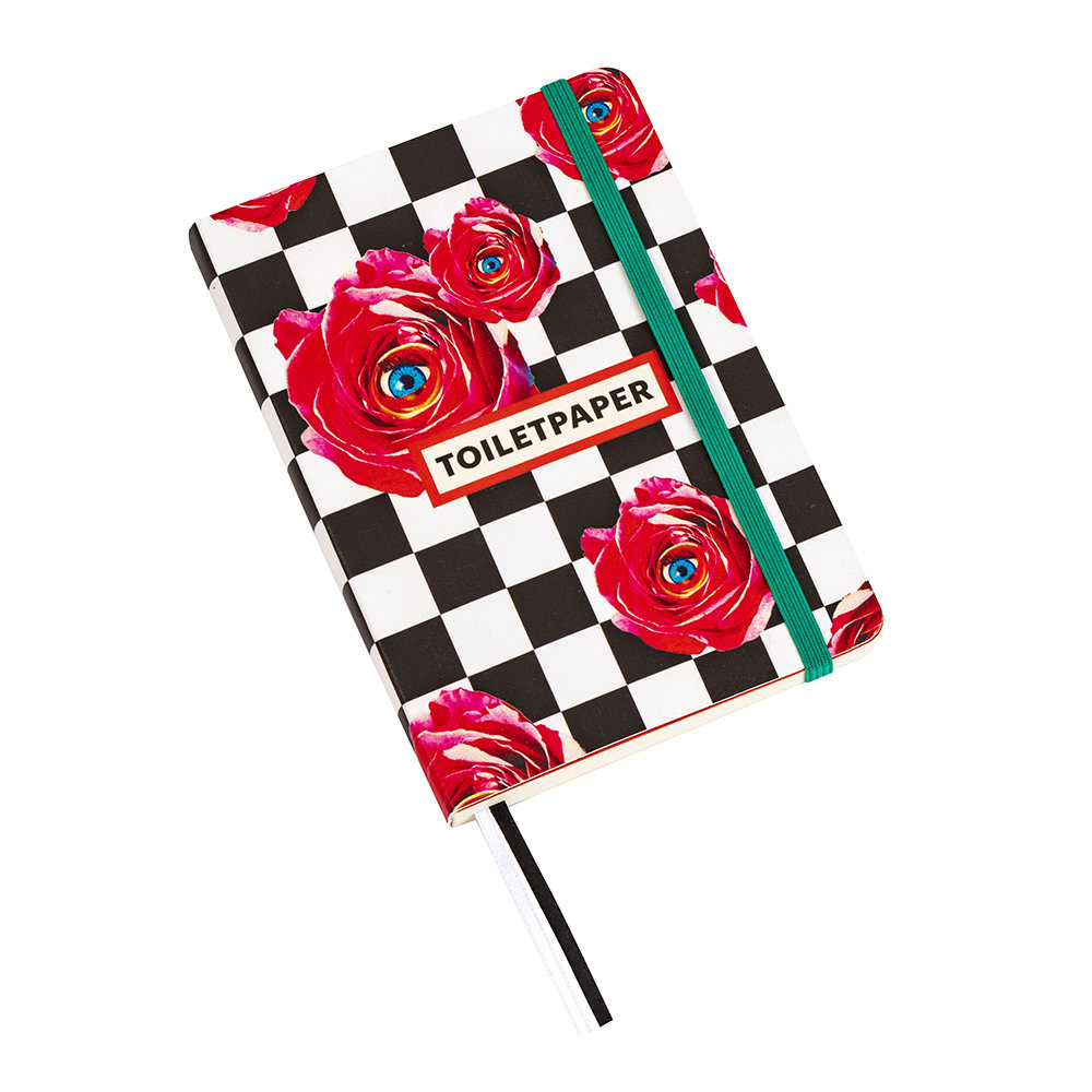 Seletti wears Toiletpaper - Small Notebook - Roses