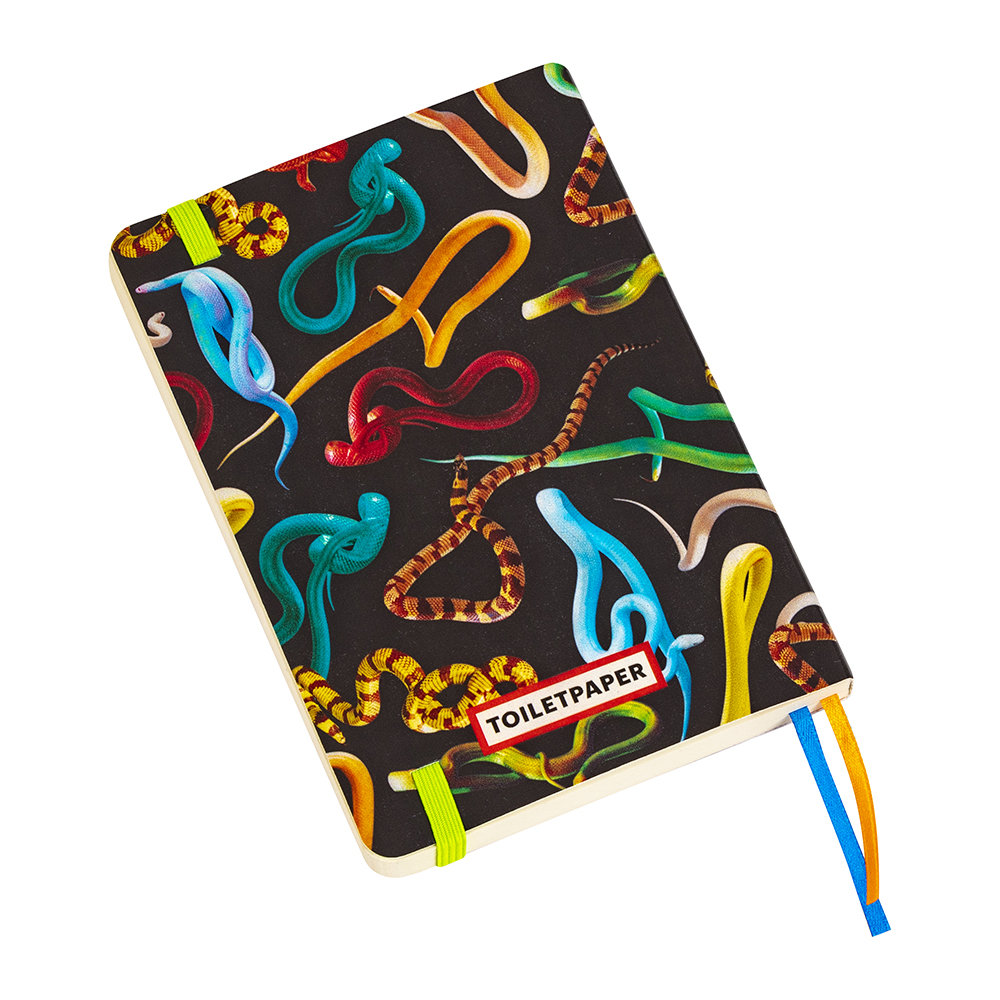 Seletti wears Toiletpaper - Small Notebook - Snakes