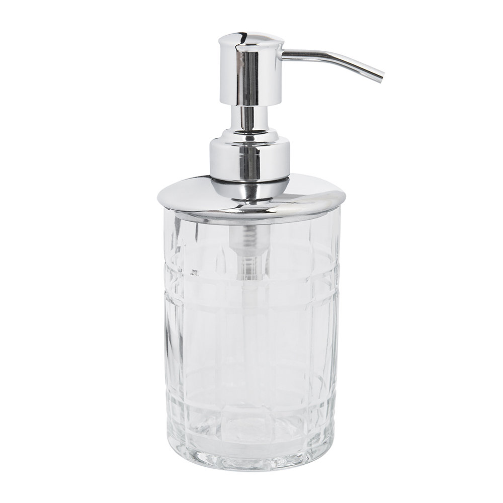 A by AMARA - Cut Glass Soap Dispenser