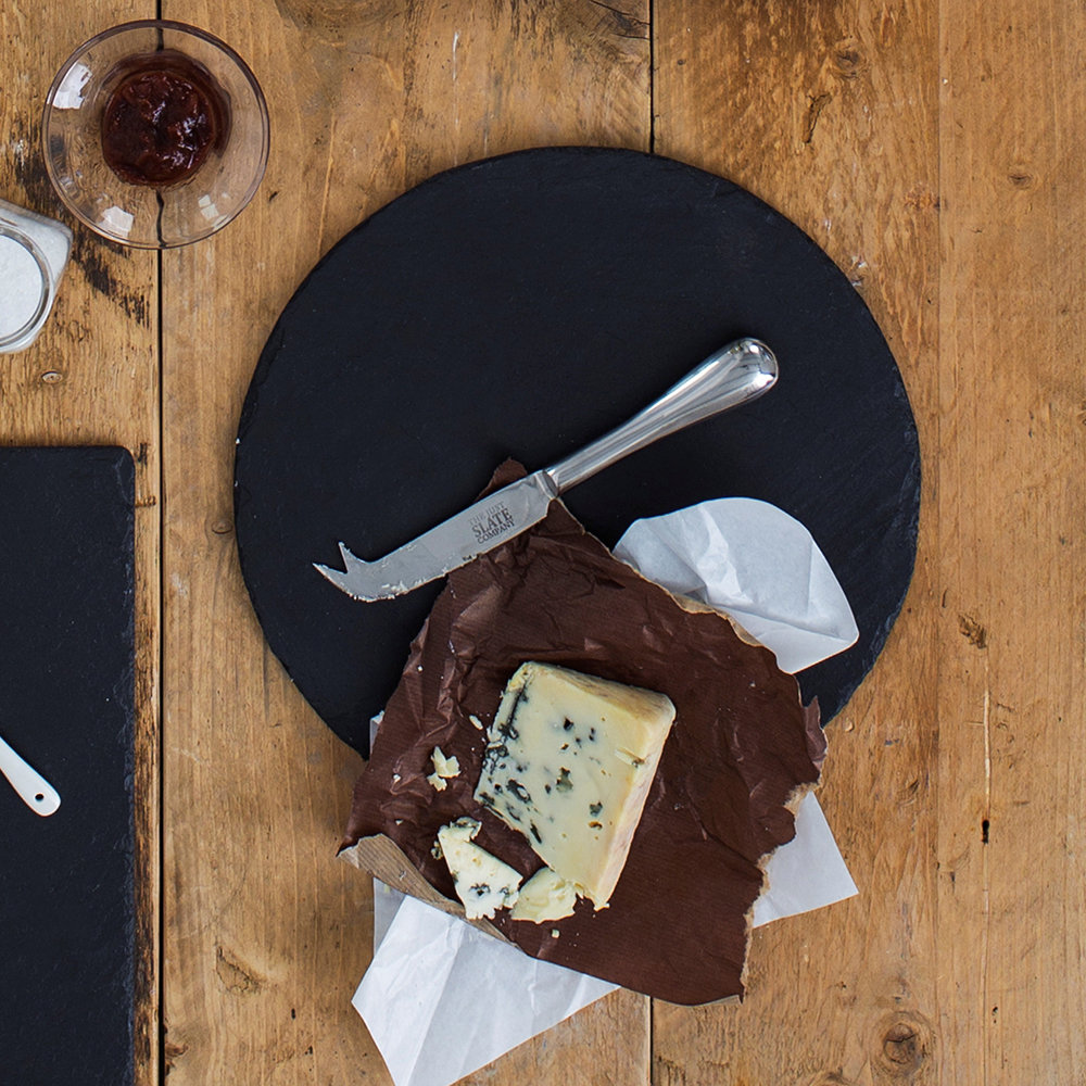 The Just Slate Company - Round Cheeseboard