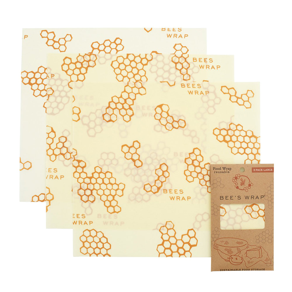 Bee's Wrap - Reusable Large Food Wraps - Honeycomb