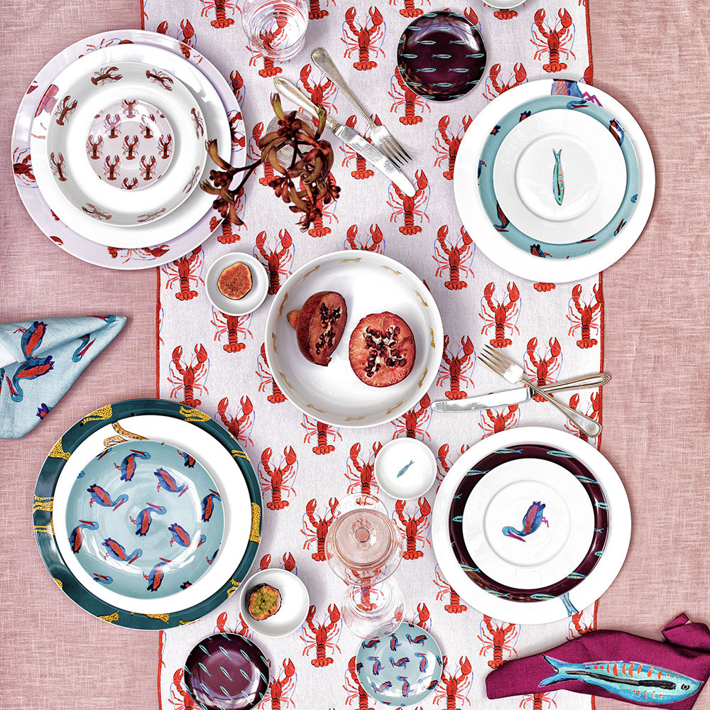 Fabienne Chapot - Lobster Plate - Side Plate