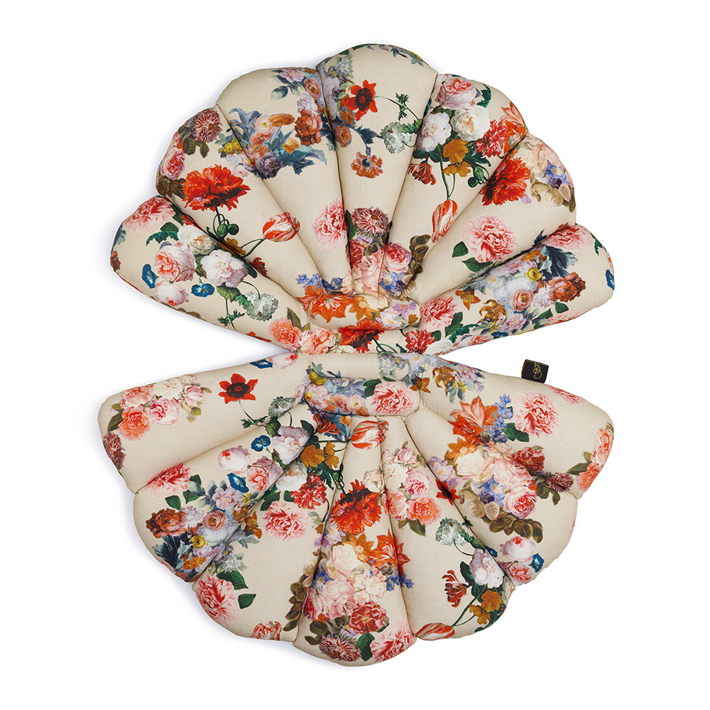 Garden Glory - Shell Water Repellent Seat Pad - Flower
