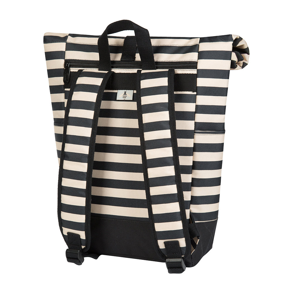 Anorak - Bee Stripe Rolltop Coolbag