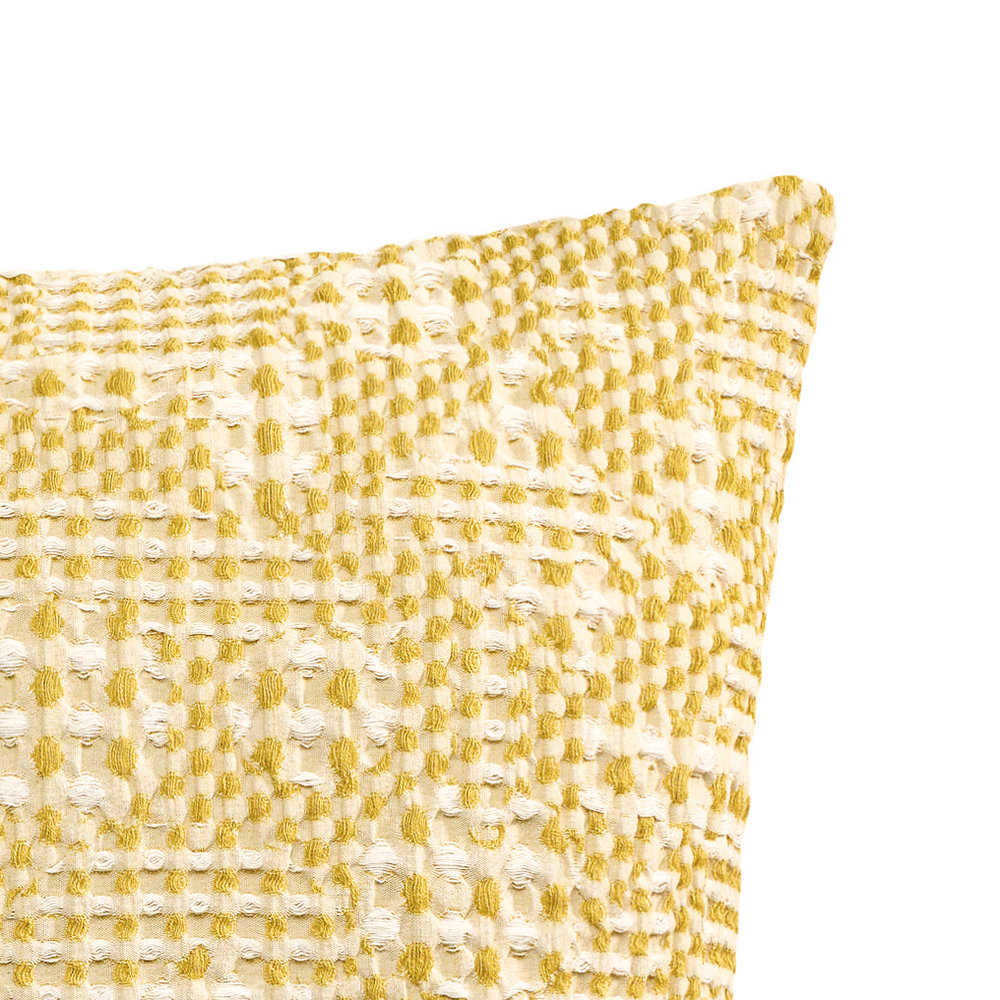 Vivaraise - Talin Cushion - 45x45cm - Yellow