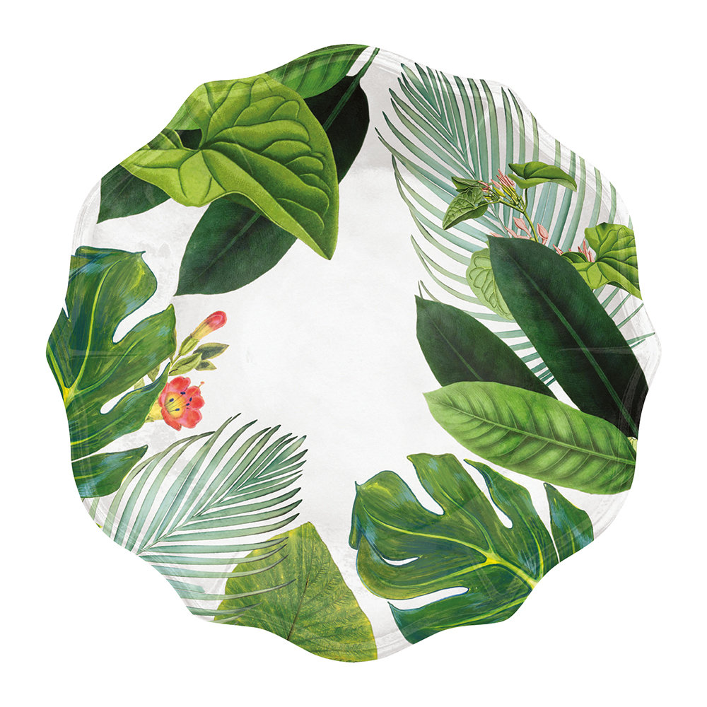 Epicurean - Amazon Floral Melamine Dinner Plate
