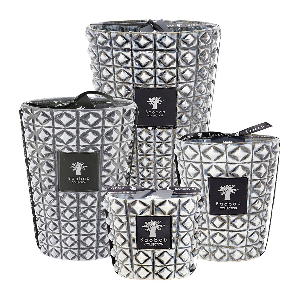 Baobab Collection - Ceramica Outdoor Scented Candle - Limited Edition - Terra Negra - 10cm