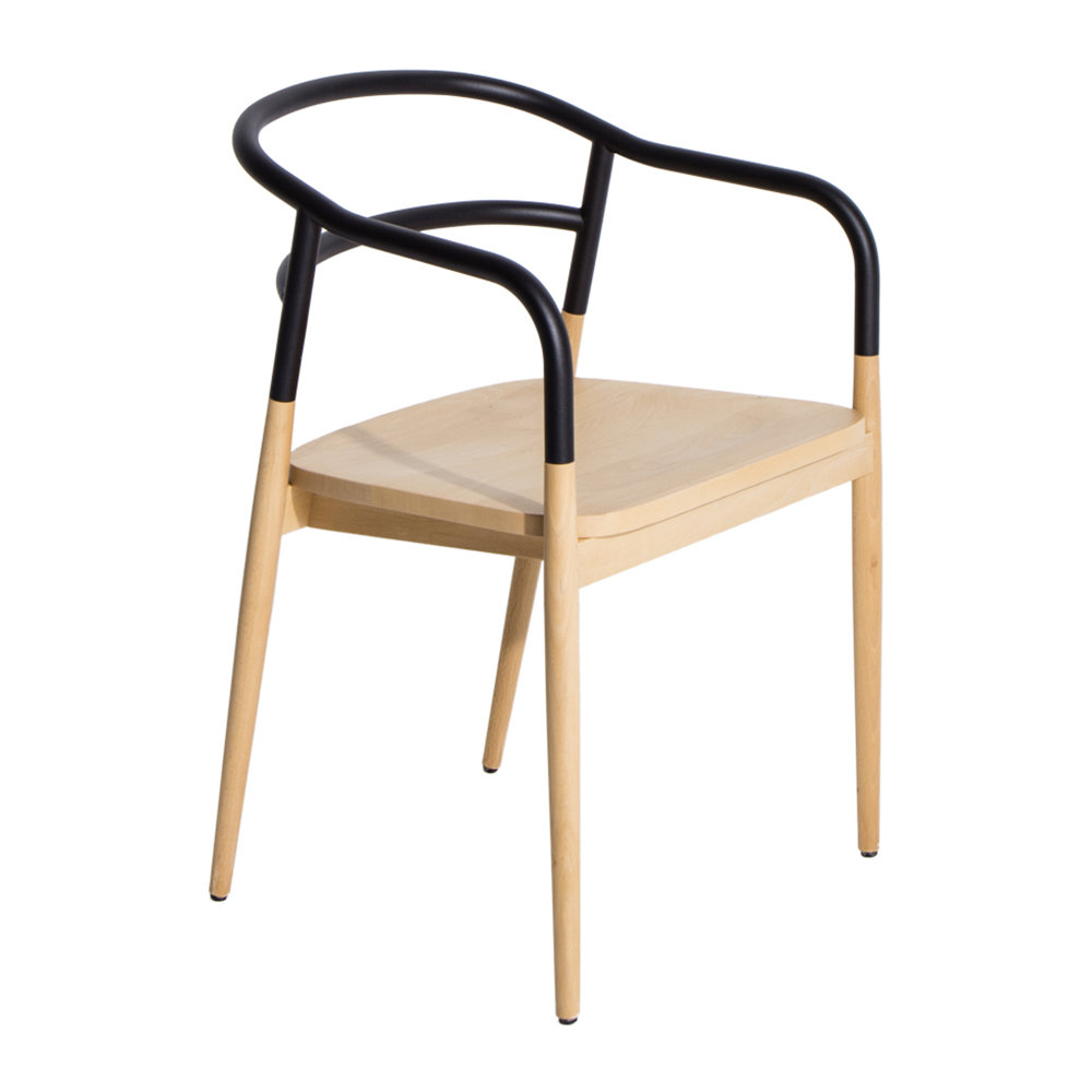Petite Friture - Dojo Bridge Chair - Black