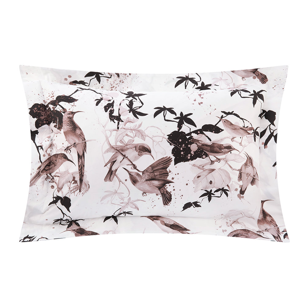 Roberto Cavalli - Bird Ramage Bed Set - Rose - Super King