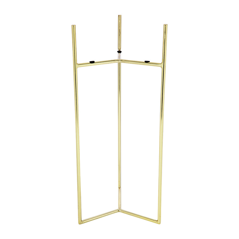 A by AMARA - Raised Gold Planter - Tall