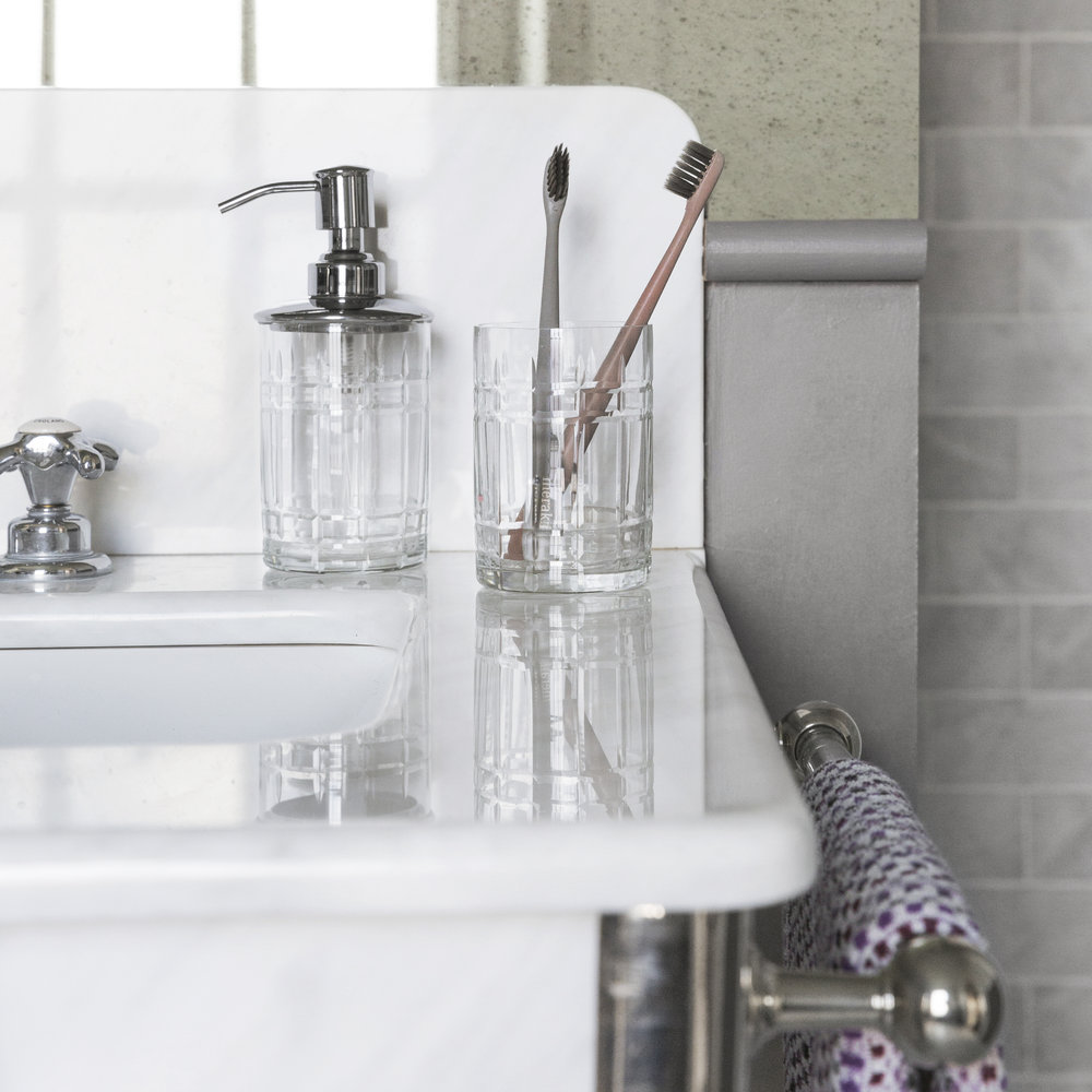 A by AMARA - Cut Glass Toothbrush Holder