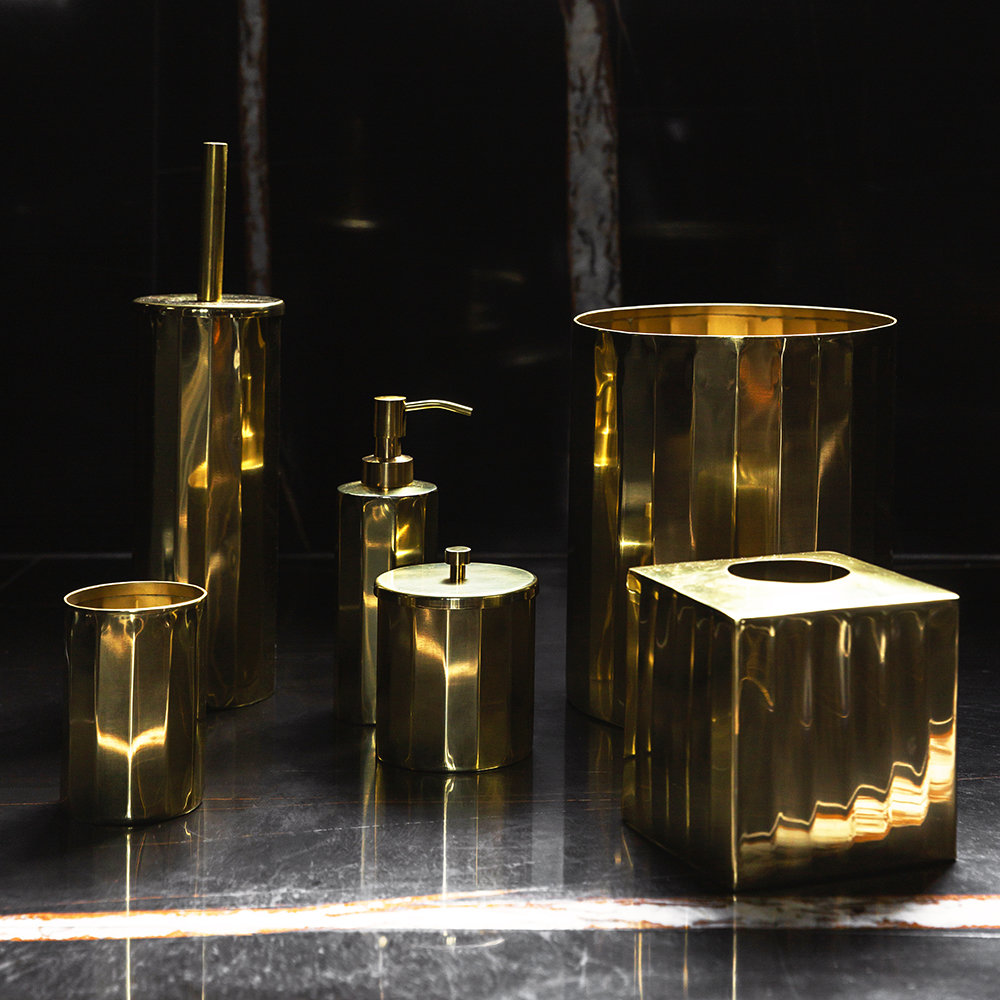 Luxe - Antique Gold Toothbrush Holder