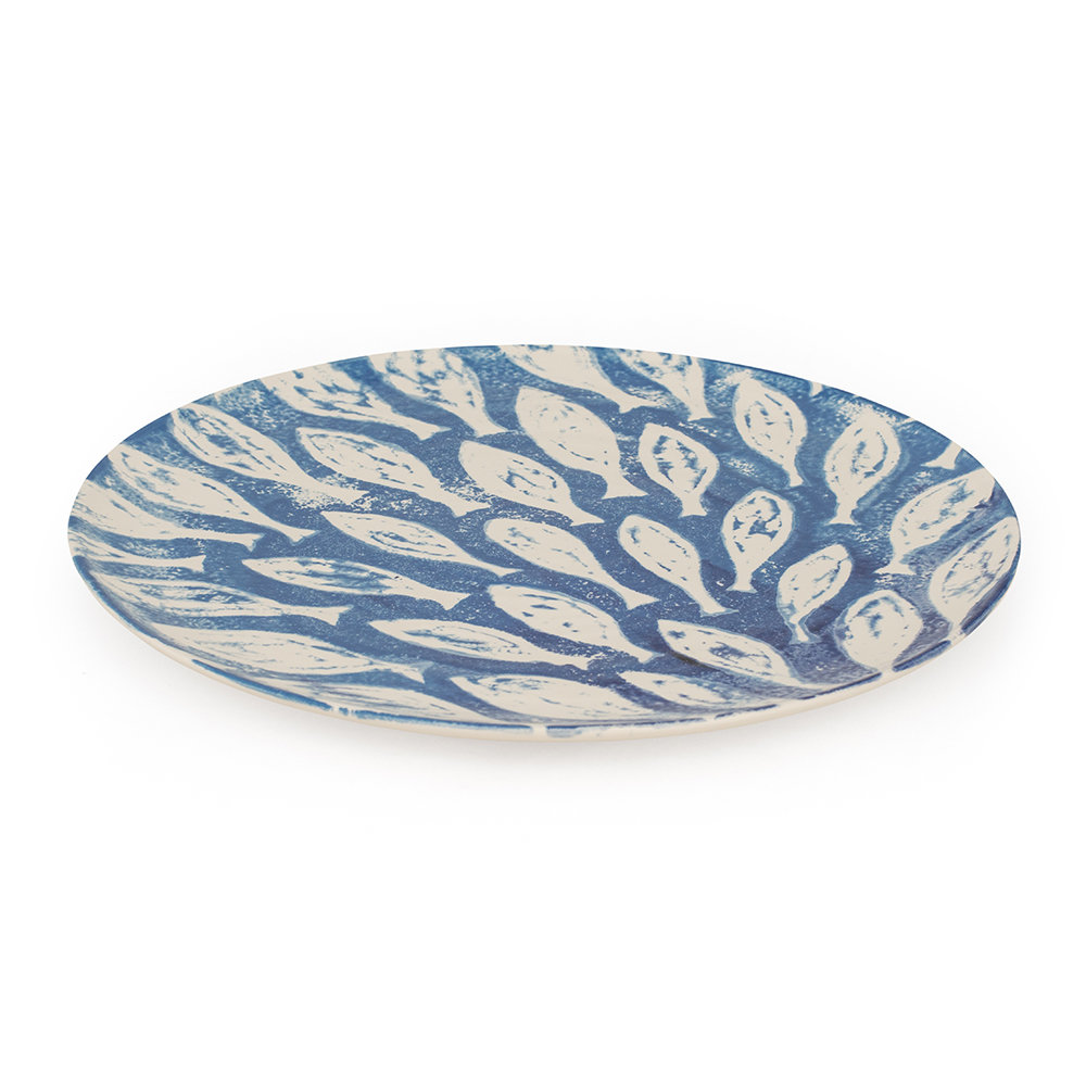 Bliss Home - Creatures Large Shoal Fish Platter