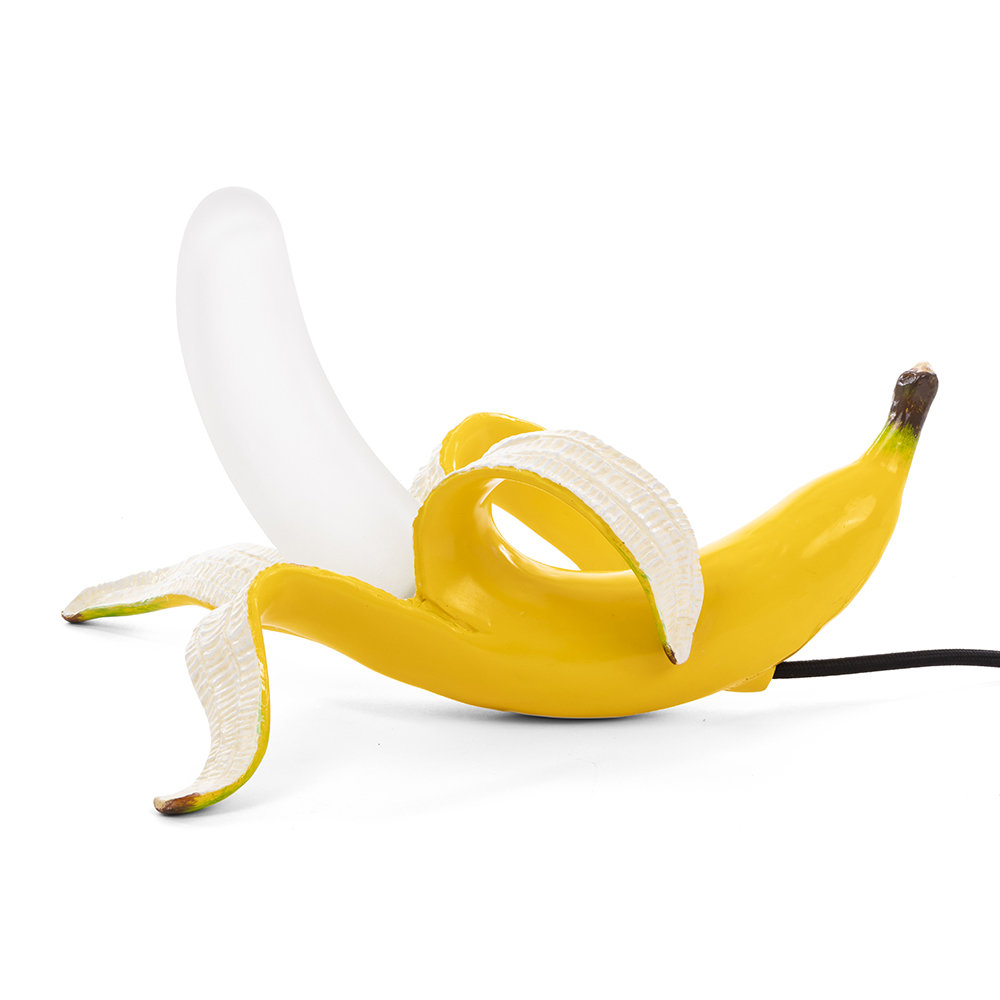 Seletti - Banana Lamp - Dewey - Yellow