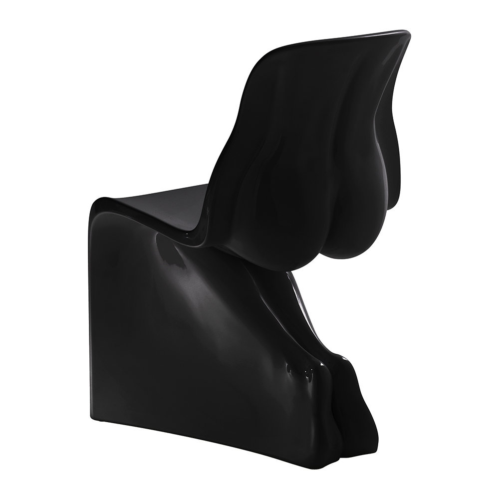 Horm  Casamania - Her Chair - Gloss Black