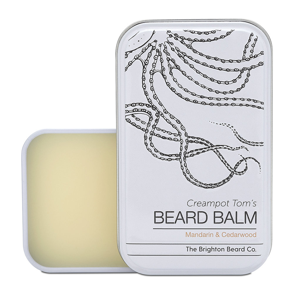 The Brighton Beard Company - Creampot Tom's Beard Balm - Mandarin & Cedarwood