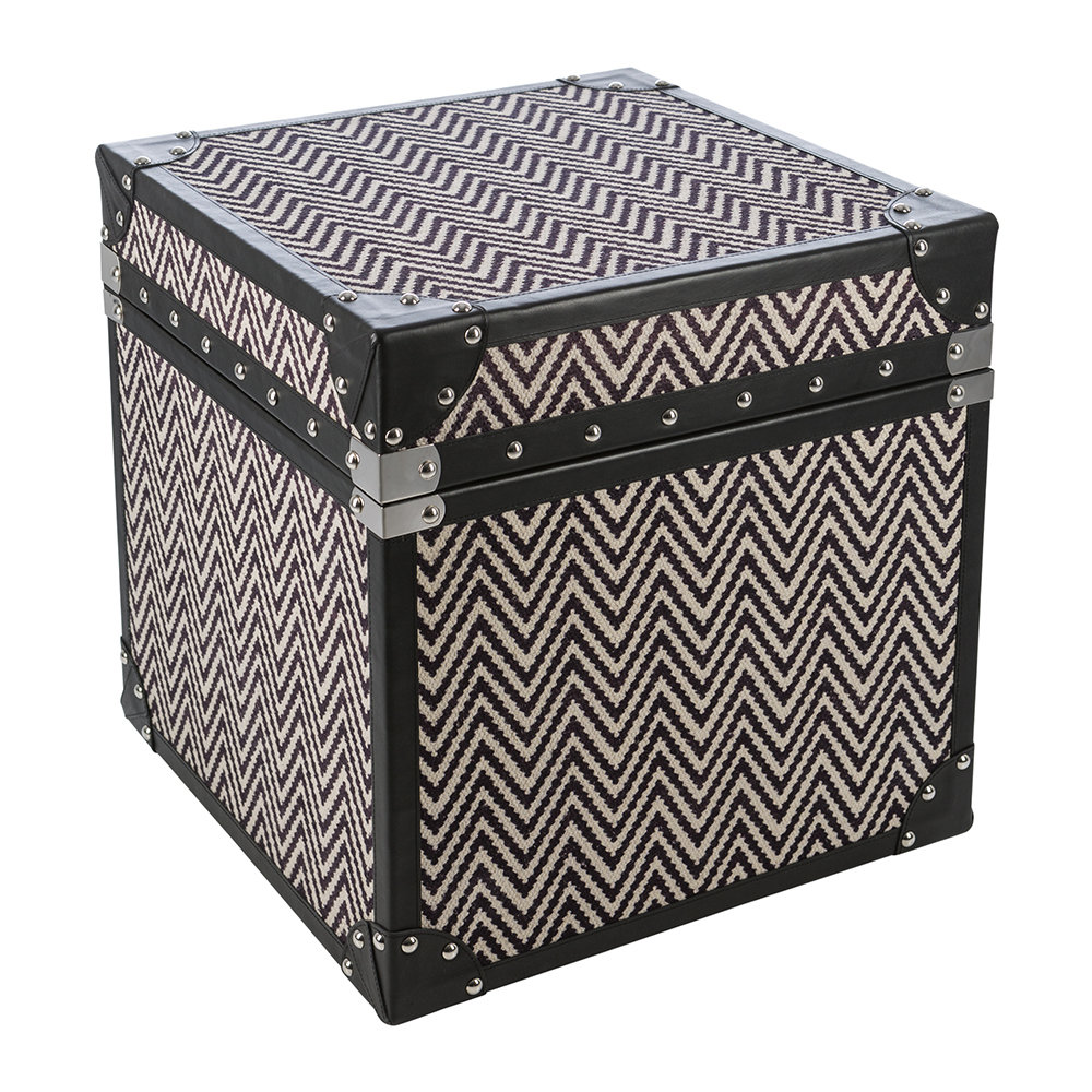 Global Explorer - Zigzag Leather Chest - Small