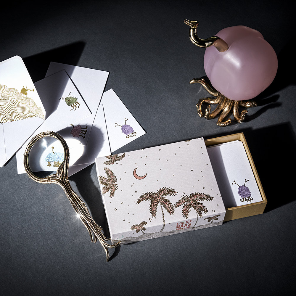 L'Objet - Gold Octopus Magnifying Glass
