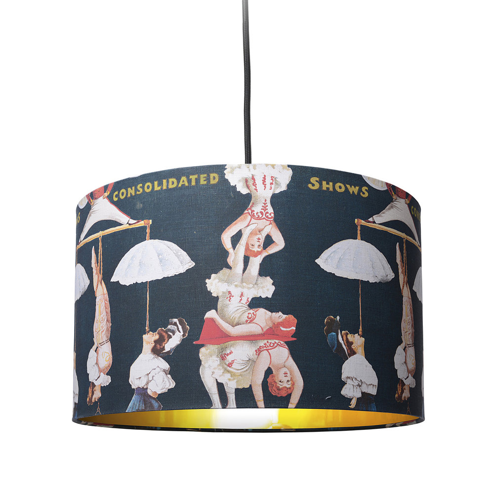 MINDTHEGAP - The Great Show Drum Ceiling Light - Small