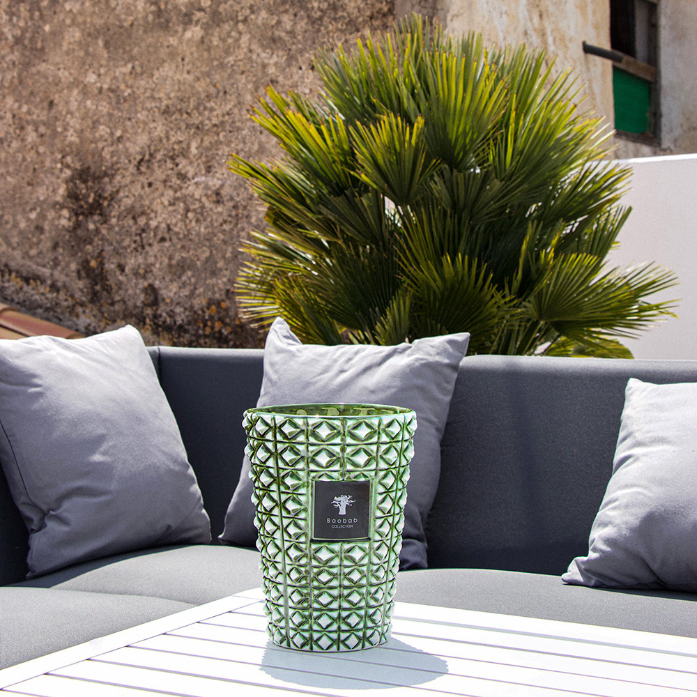 Baobab Collection - Ceramica Outdoor Scented Candle - Limited Edition - Verdor - 35cm