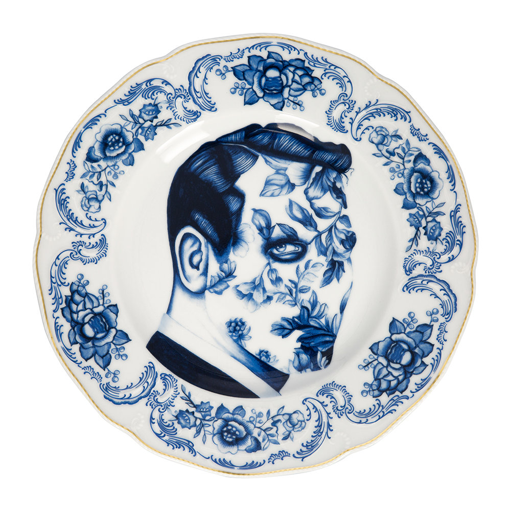 Rosenthal - Cilla Marea Wall Plate - Pattern 6