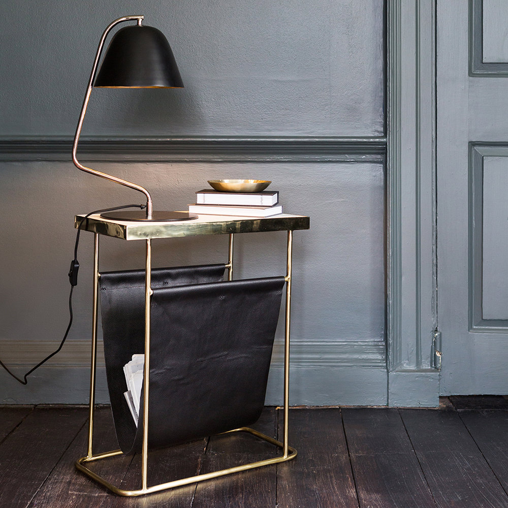 A by AMARA - Bell Table Lamp - Black
