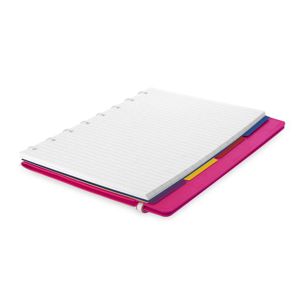Filofax - A5 Classic Ruled Notebook - Fuchsia