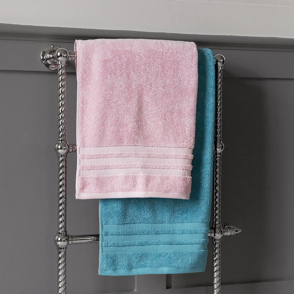 A by AMARA - Egyptian Cotton Towel - Steel Blue - Bath Towel