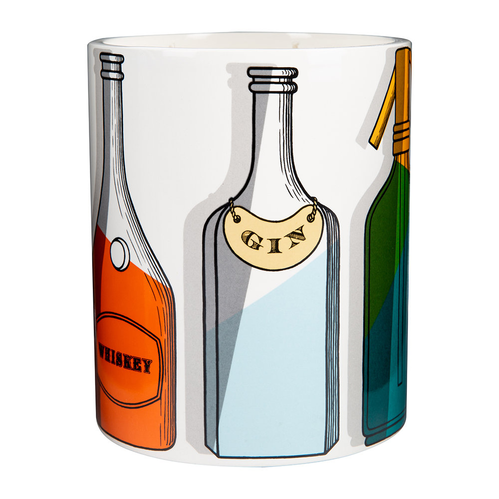 Fornasetti - Cocktail Candle - Otto - Medium
