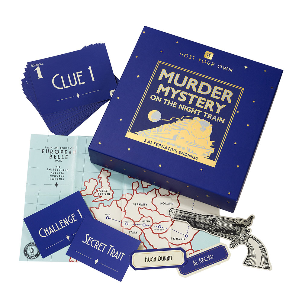 Talking Tables - Host Your Own Murder Mystery on the Night Train
