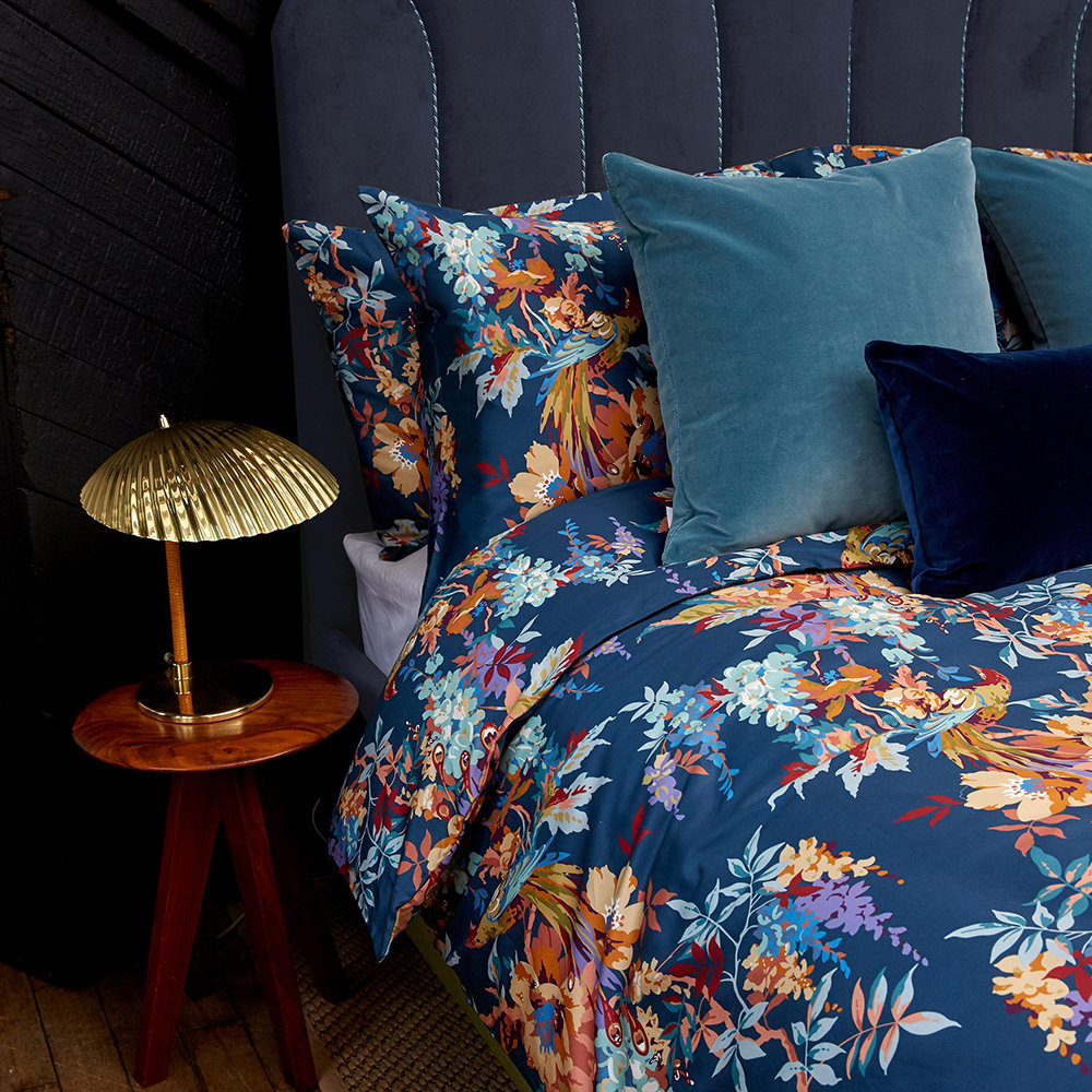 Liberty London - Delphine Quilt Set - Navy - Super King