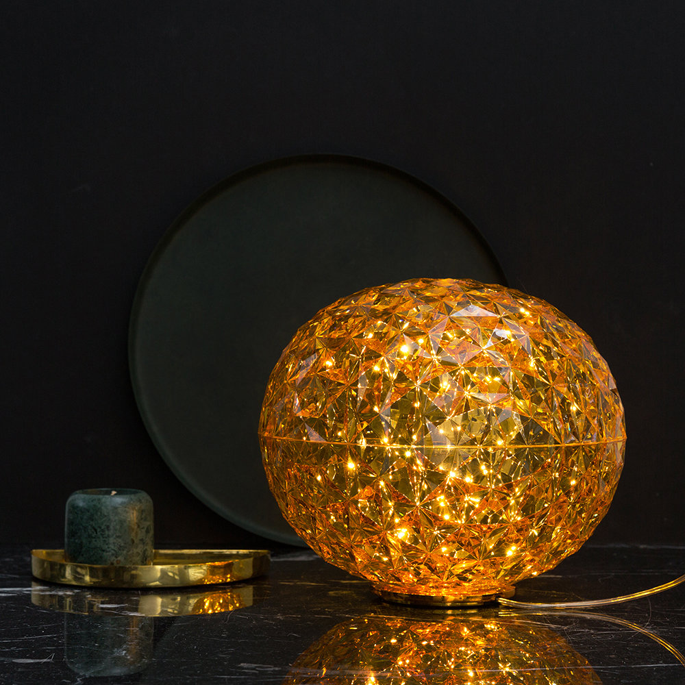 Kartell - Planet Low Table Lamp - Gold