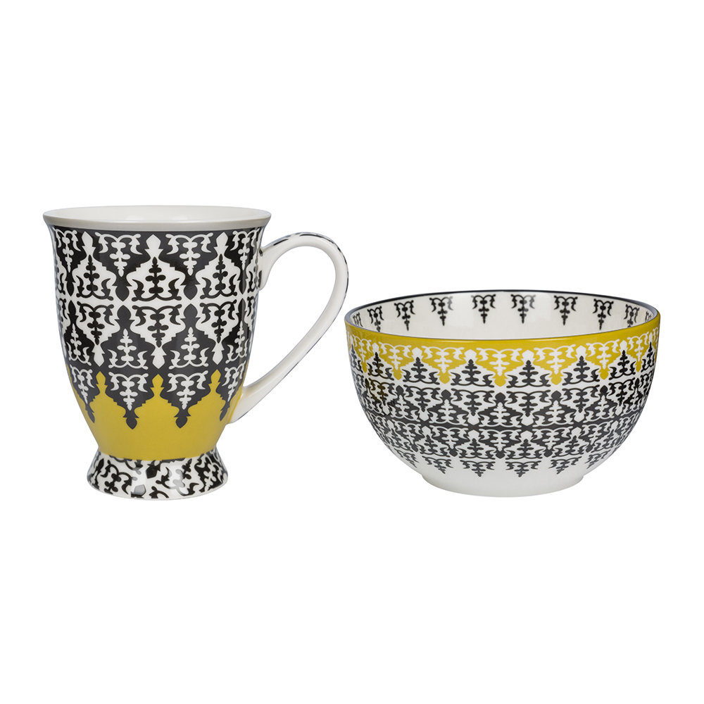 Images d'Orient - Mug and Bowl Box Set - Safra