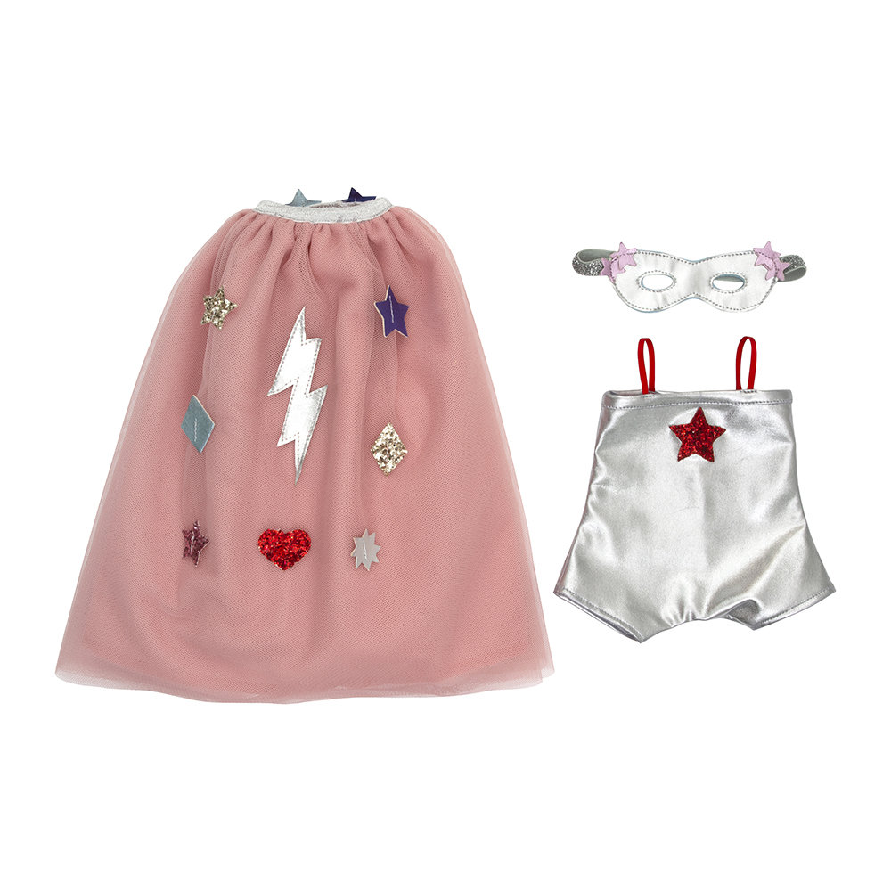 Meri Meri - Dolly Dress Up Set - Superhero