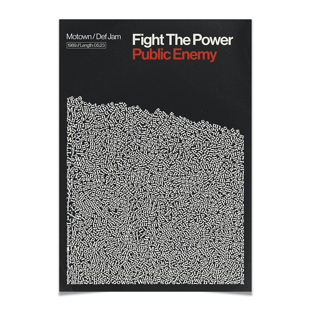 Reign  Hail - Fight The Power Print - A2