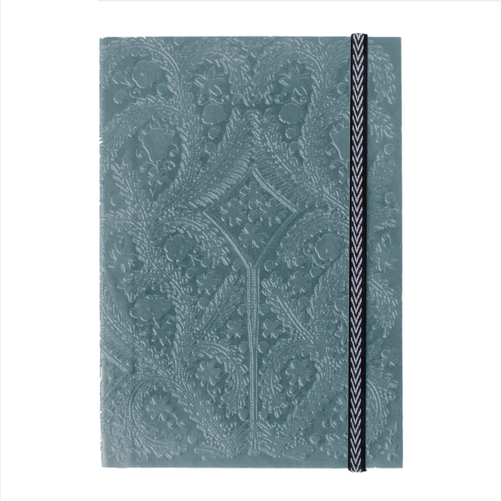 Christian Lacroix - A5 Paseo Embossed Notebook - Moon