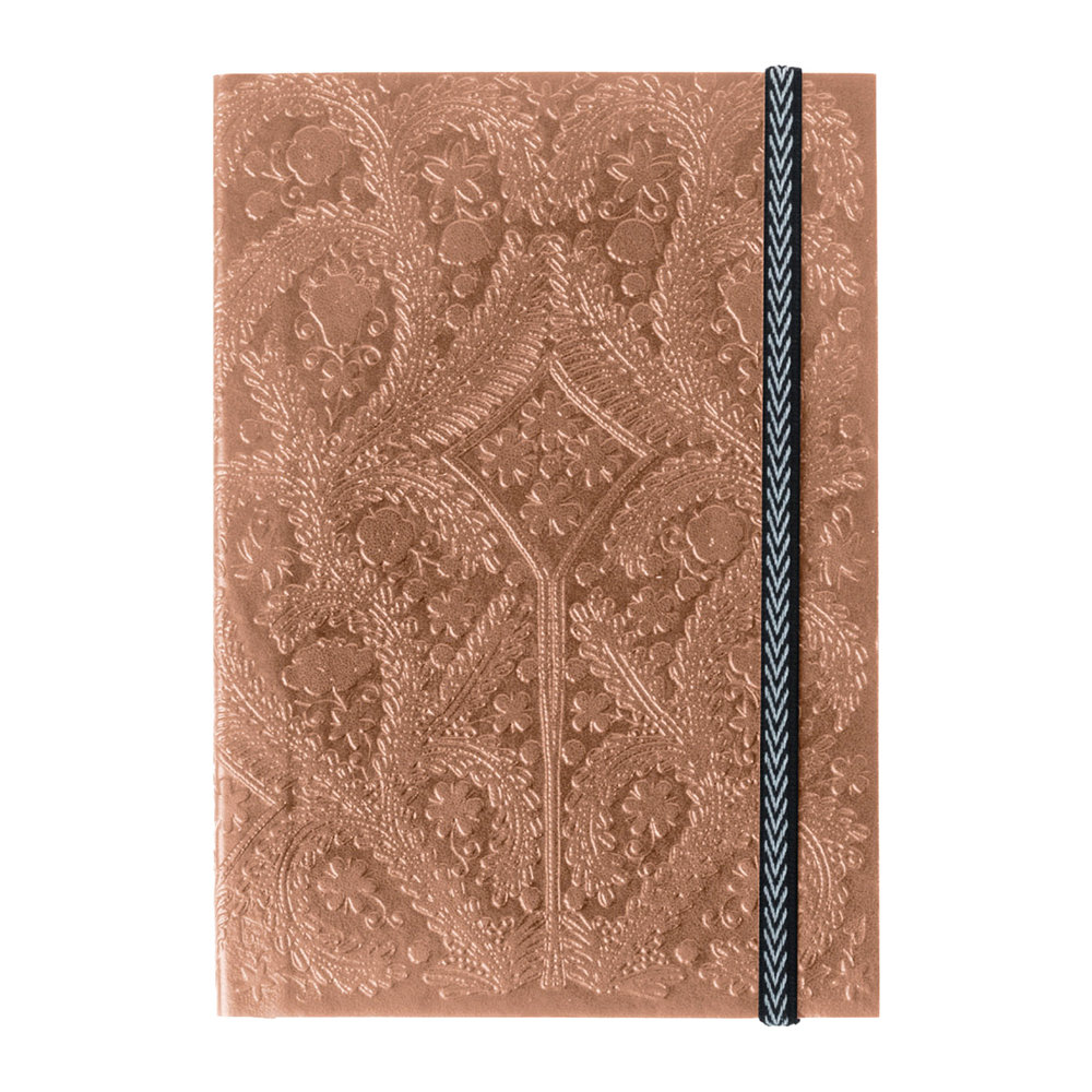 Christian Lacroix - A5 Paseo Embossed Notebook - Sunset Copper